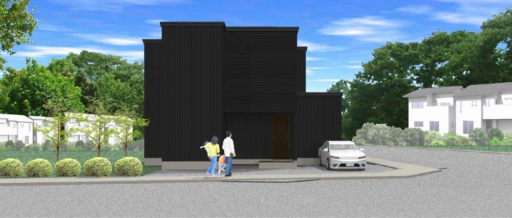 PLAN 7 - 「家が子どもの遊び場になる」、吹抜けのキッズスペースをリビングにレイアウト。 -  -