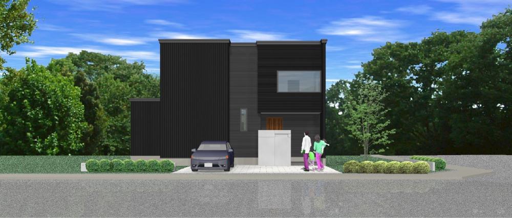 PLAN 8 - 集中力を養うスタディコーナー、パントリーのある家事室がポイントの4LDKプランです。 -  -