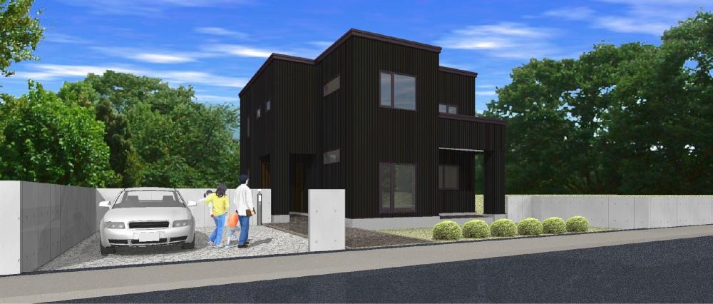 PLAN 9 - 2世帯プラン。2つの玄関、2つのリビングによりプライバシーを守る上下分離型住宅。 -  -