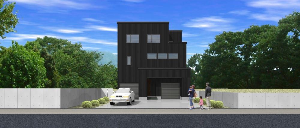 PLAN 11 - 車やバイク、アウトドアグッズを区別できる、2ヶ所のインナーガレージが楽しい家。 -  -